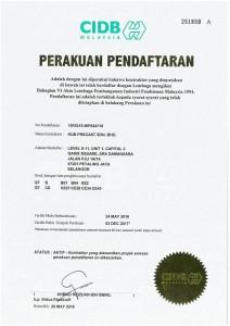 CIDB Pendaftaran