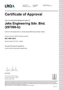JESB ISO 14001