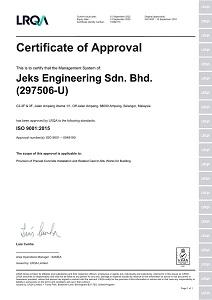 JESB ISO 9001