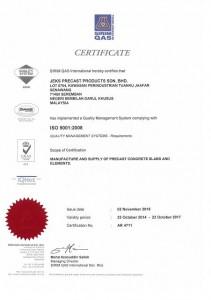 JPPSB SIRIM ISO 9001