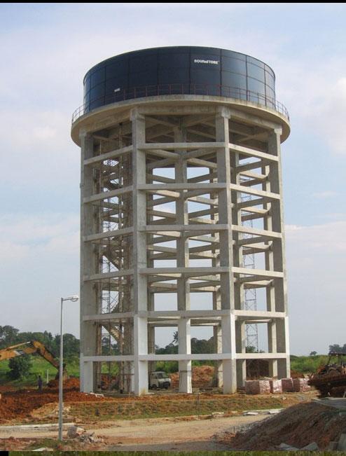 Kolej Sains Kesihatan Bersekutu, Tampoi – Elevated Water Tower