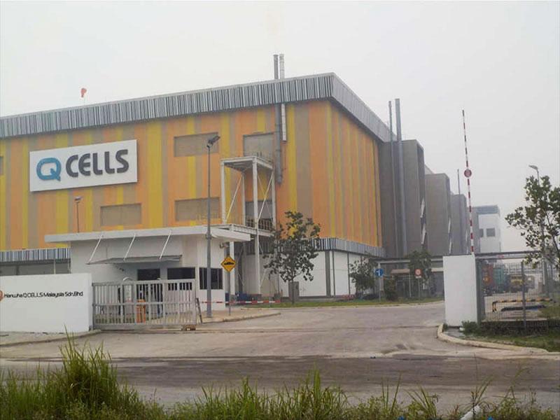 Q-Cell Solar Cell Factory, Cyberjaya